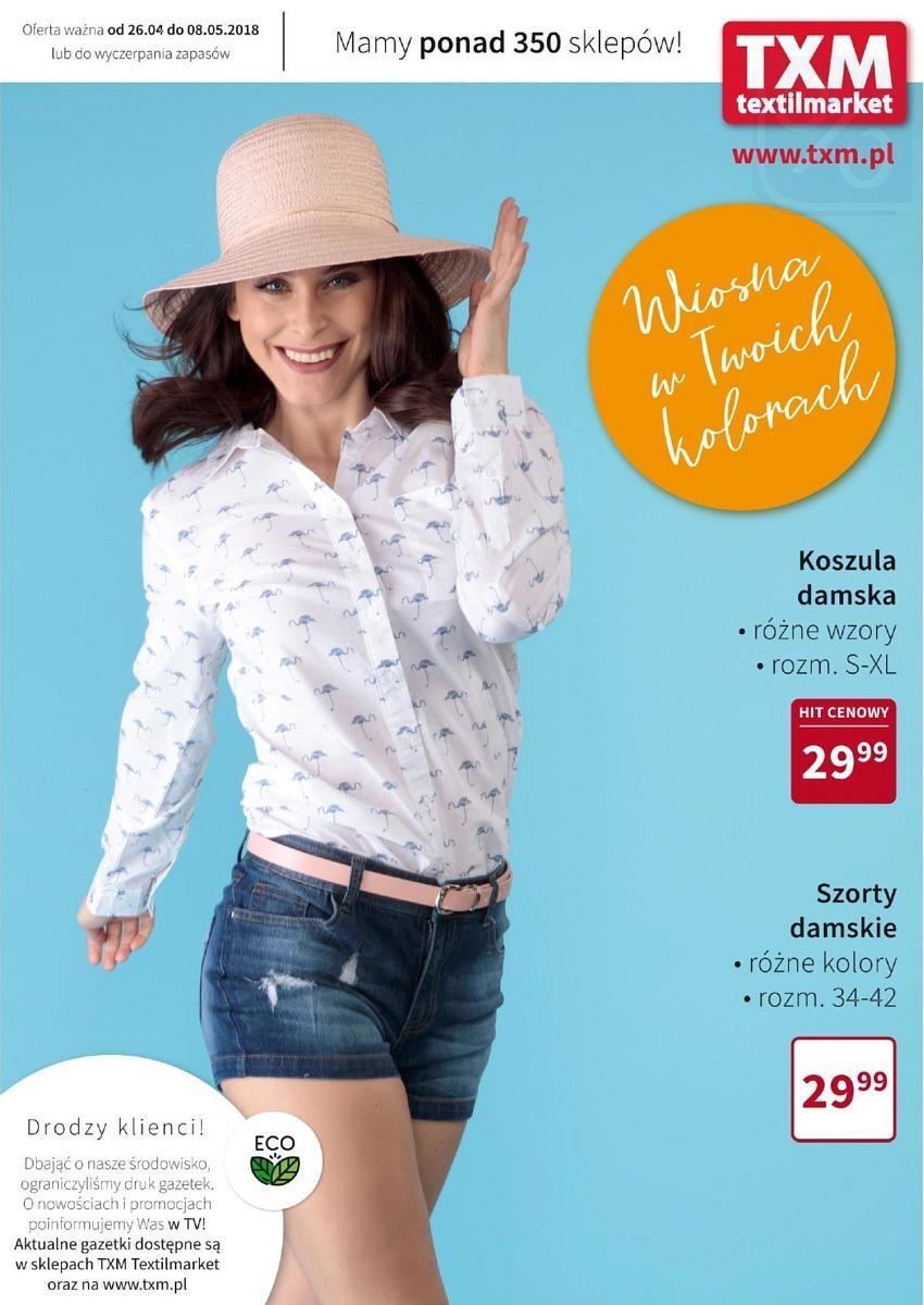 Gazetka promocyjna Textil Market do 08/05/2018 str.0