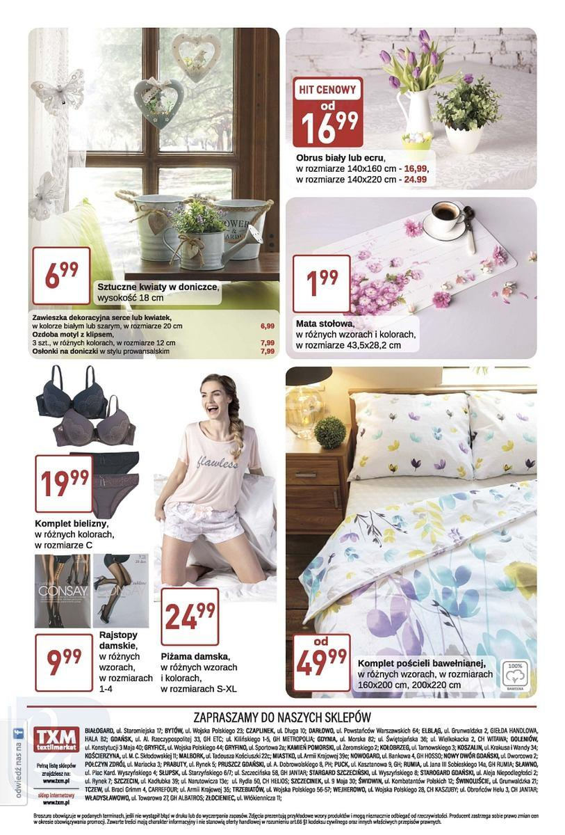 Gazetka promocyjna Textil Market do 20/03/2018 str.3