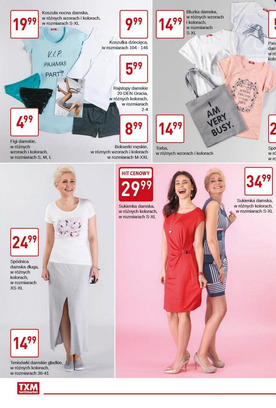 Gazetka promocyjna Textil Market do 02/05/2018 str.1