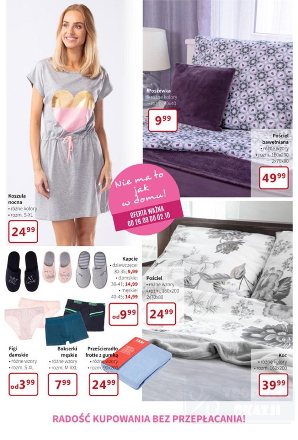 Gazetka promocyjna Textil Market do 09/10/2018 str.5