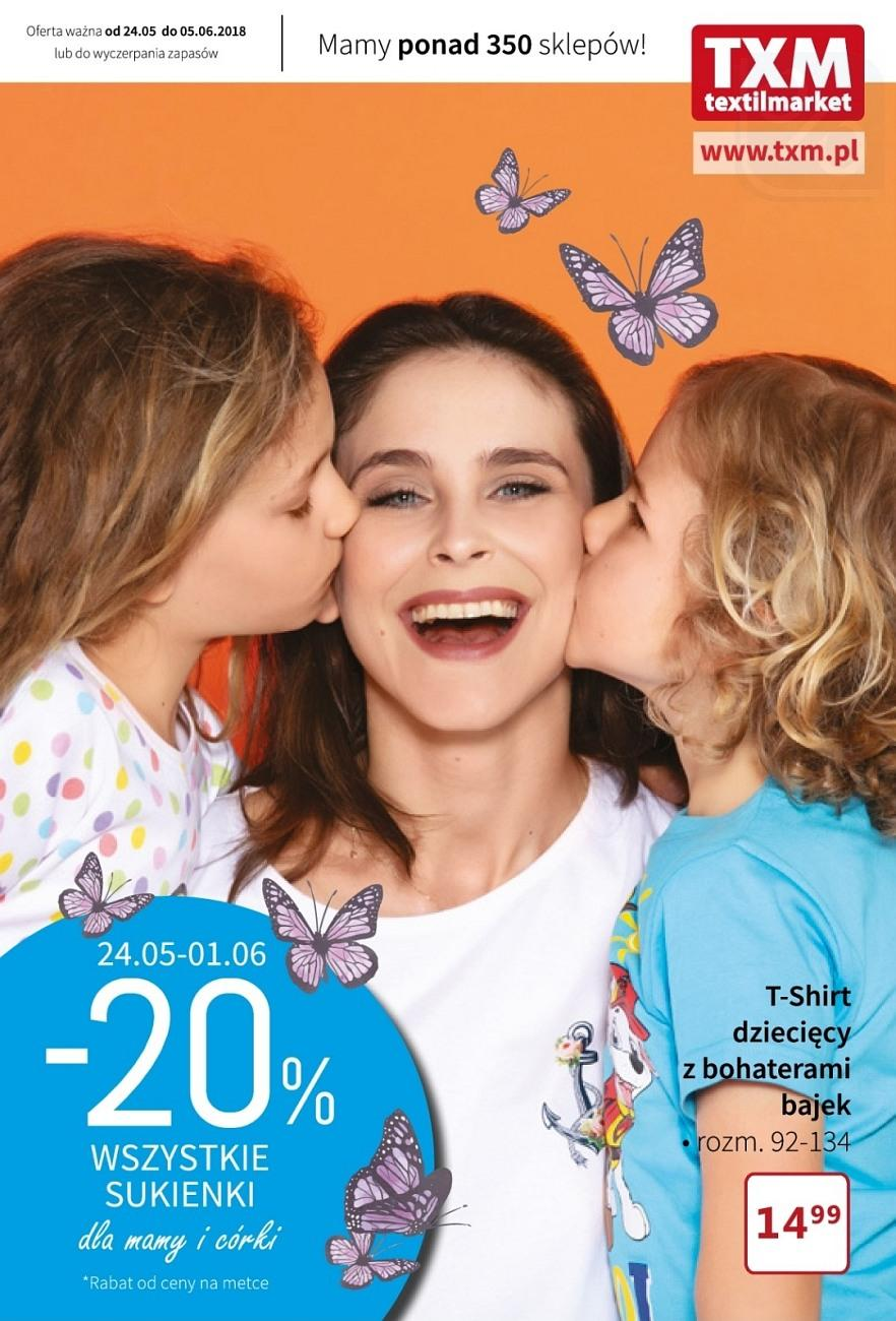 Gazetka promocyjna Textil Market do 05/06/2018 str.1