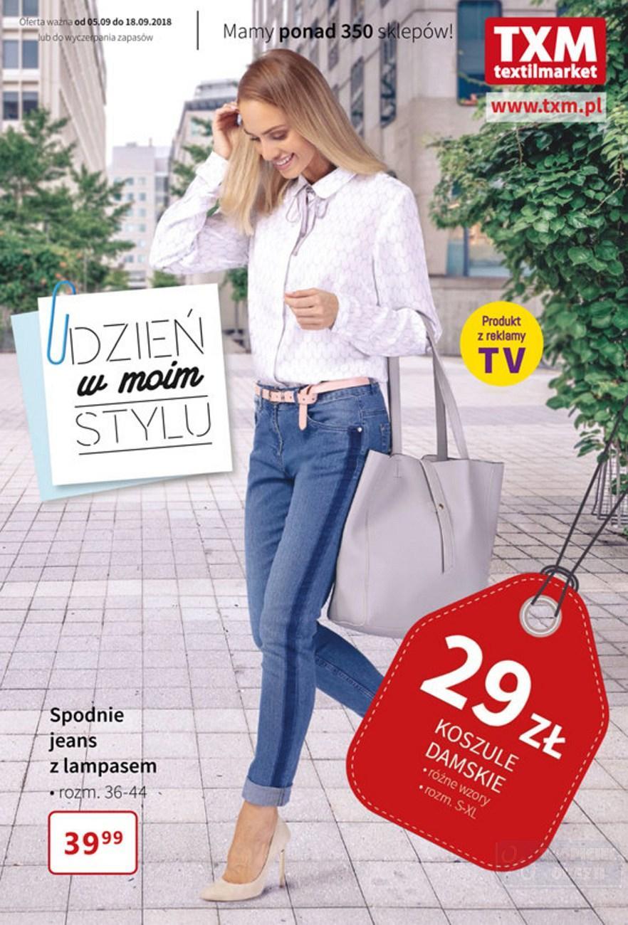 Gazetka promocyjna Textil Market do 18/09/2018 str.0