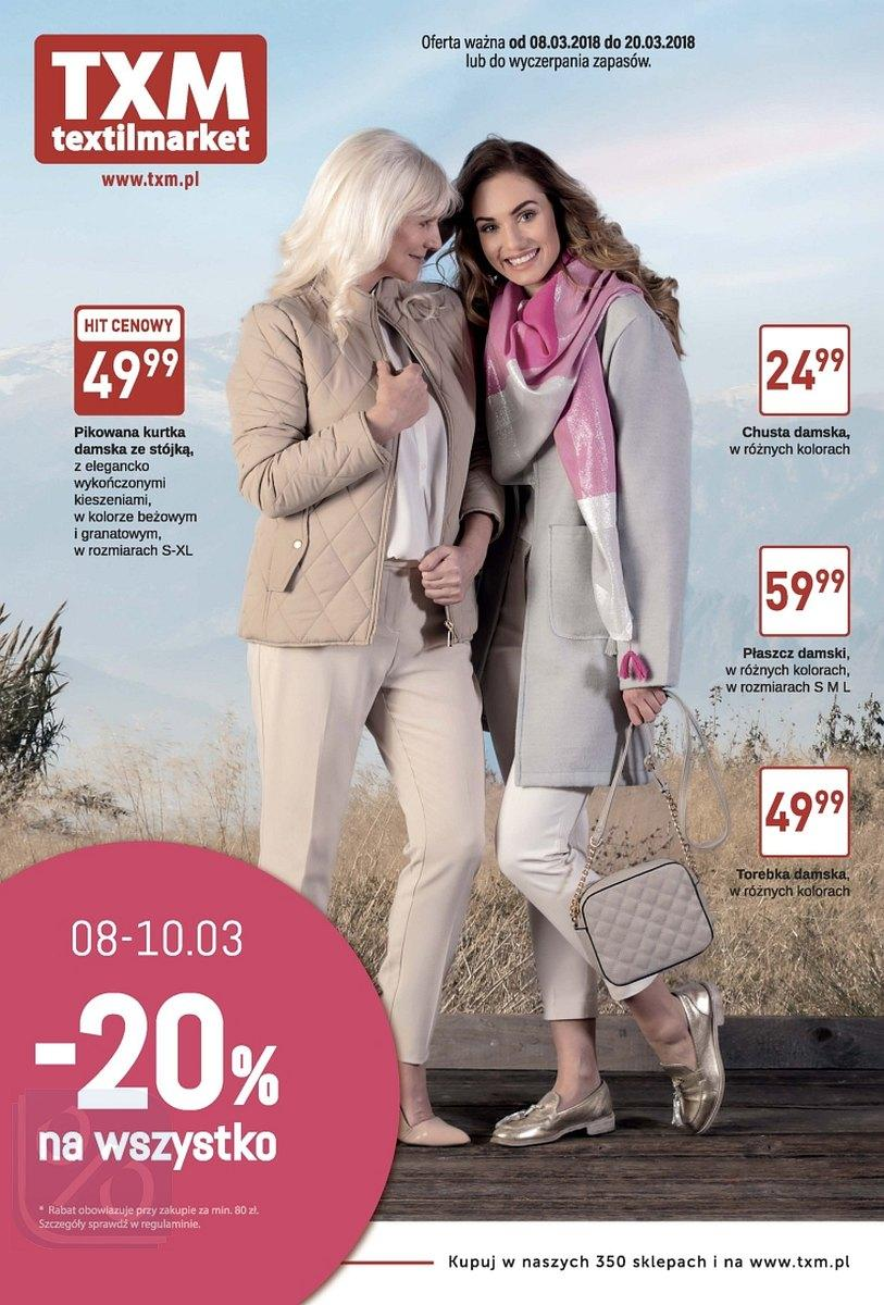 Gazetka promocyjna Textil Market do 20/03/2018 str.0