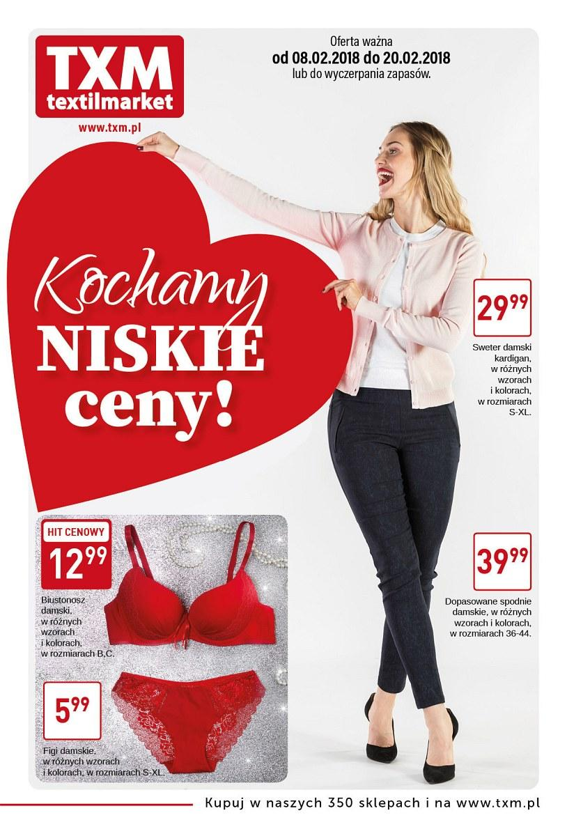 Gazetka promocyjna Textil Market do 20/02/2018 str.0