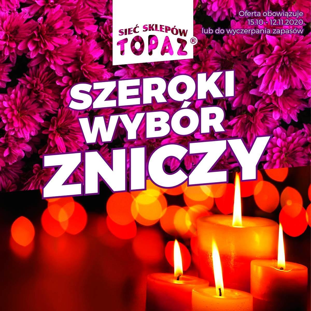 Gazetka promocyjna Topaz do 12/11/2020 str.1