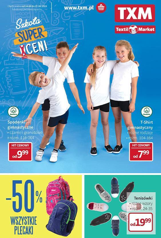 Gazetka promocyjna Textil Market do 27/08/2019 str.1