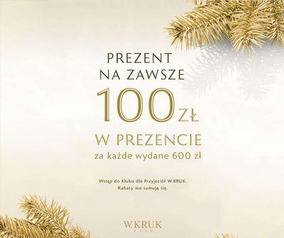 100 zł w prezencie