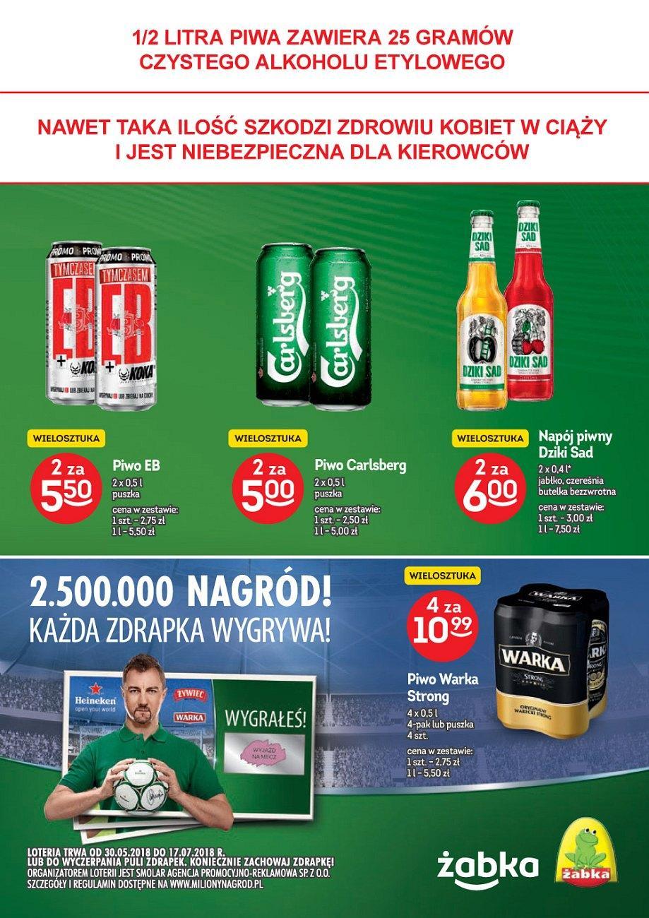 Gazetka promocyjna Żabka do 10/07/2018 str.2