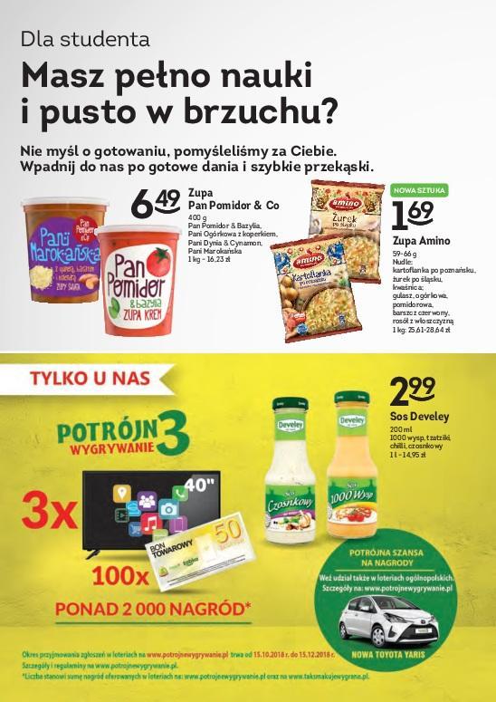 Gazetka promocyjna Żabka do 30/10/2018 str.9