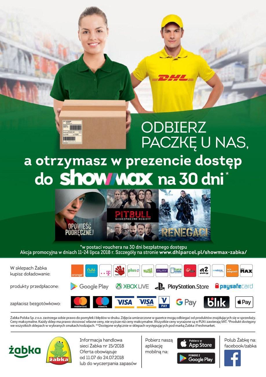 Gazetka promocyjna Żabka do 24/07/2018 str.31