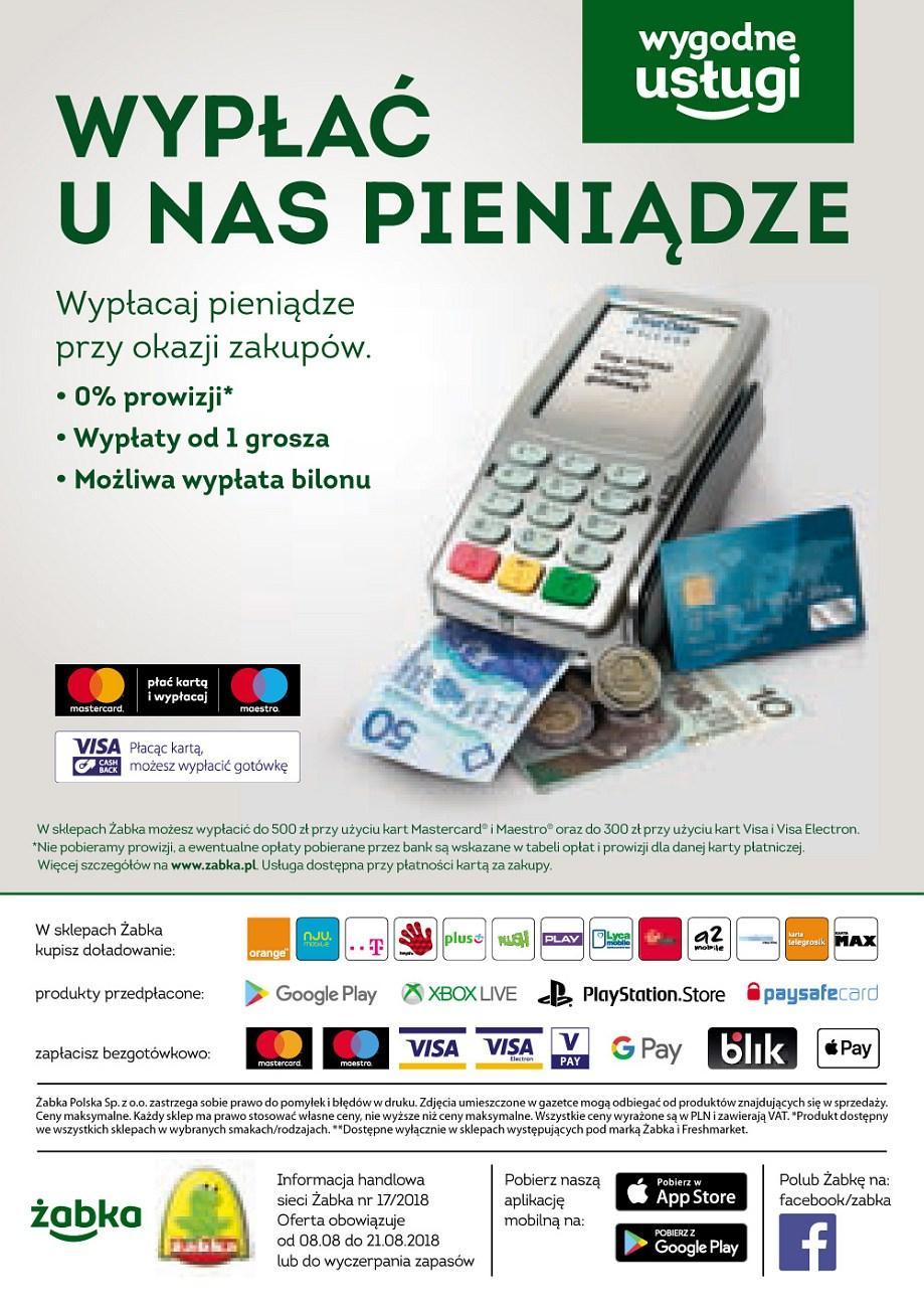 Gazetka promocyjna Żabka do 21/08/2018 str.31