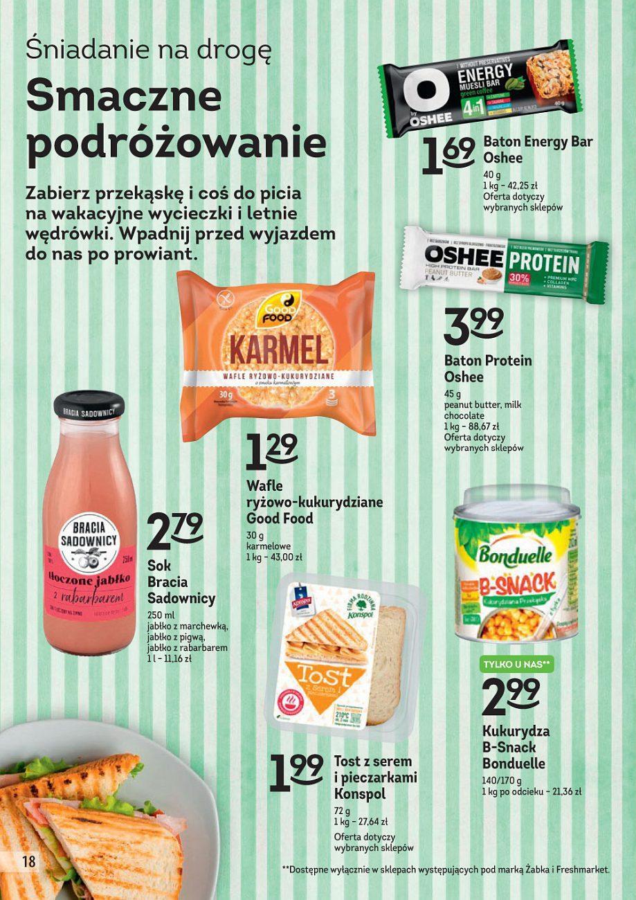 Gazetka promocyjna Żabka do 24/07/2018 str.17