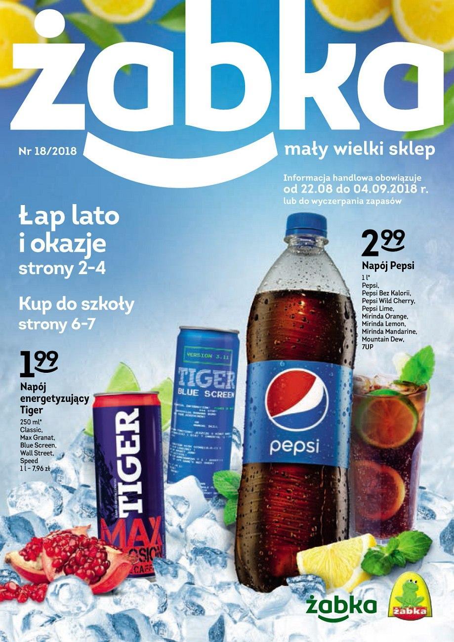 Gazetka promocyjna Żabka do 04/09/2018 str.0