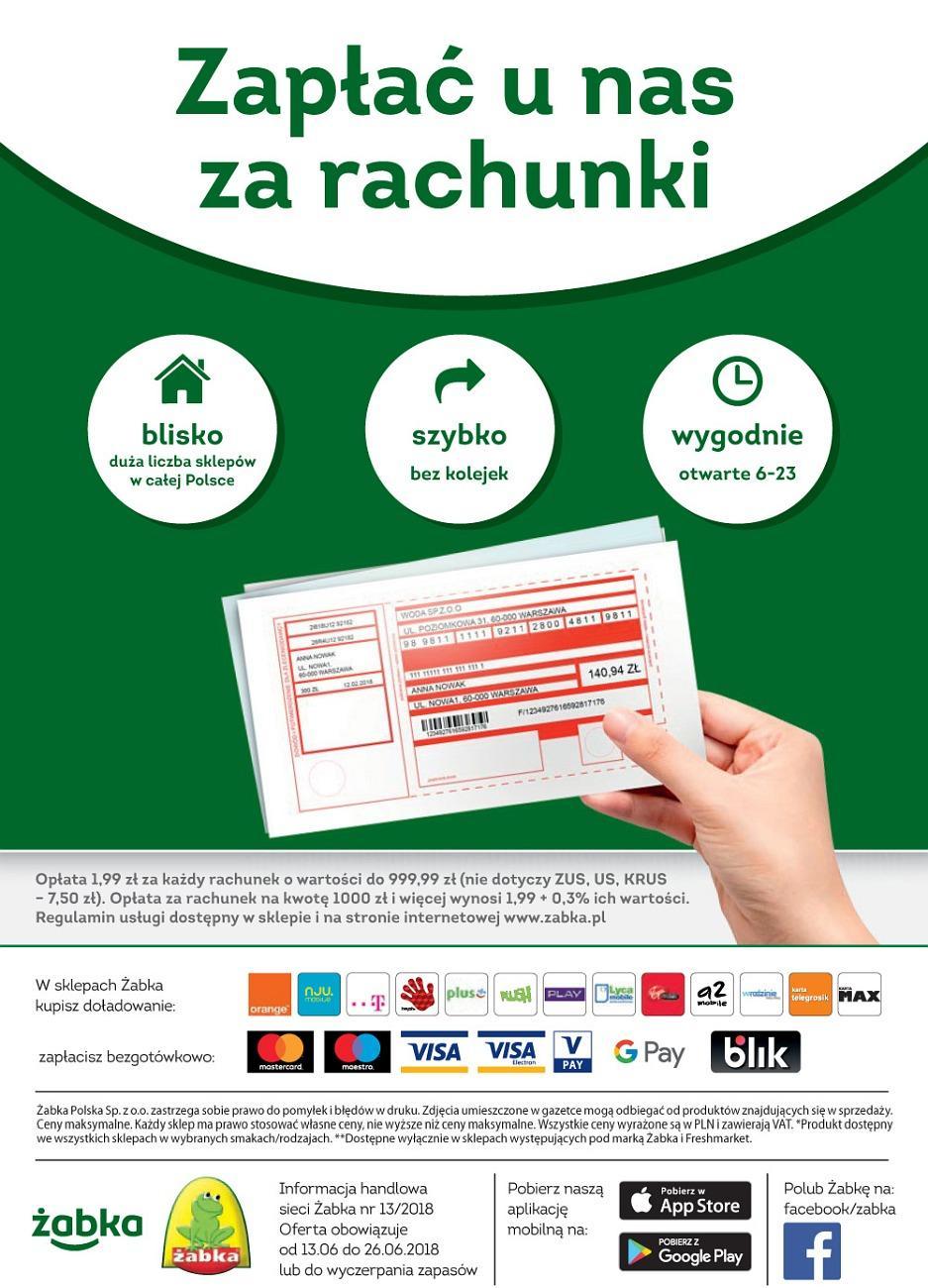 Gazetka promocyjna Żabka do 26/06/2018 str.31