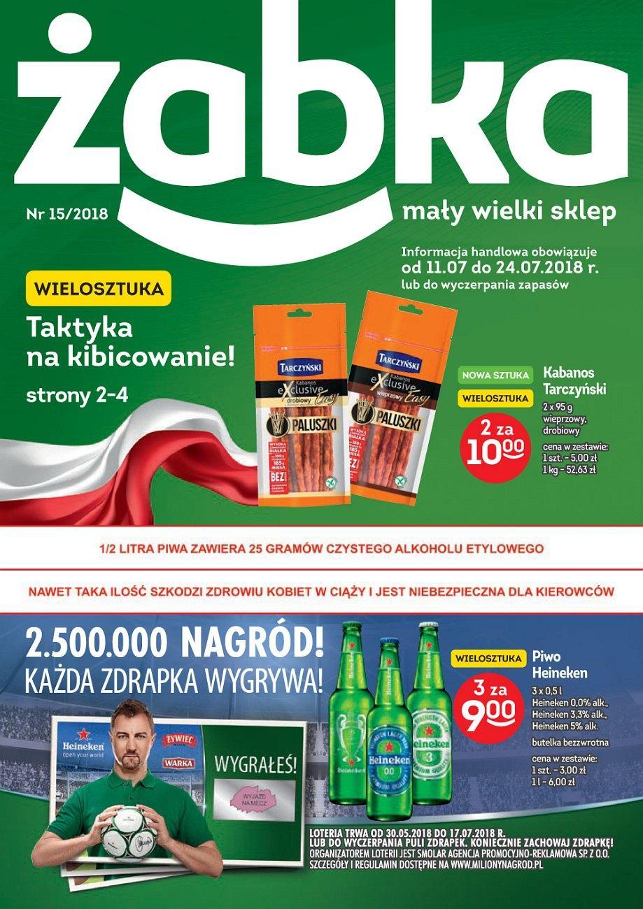 Gazetka promocyjna Żabka do 24/07/2018 str.1