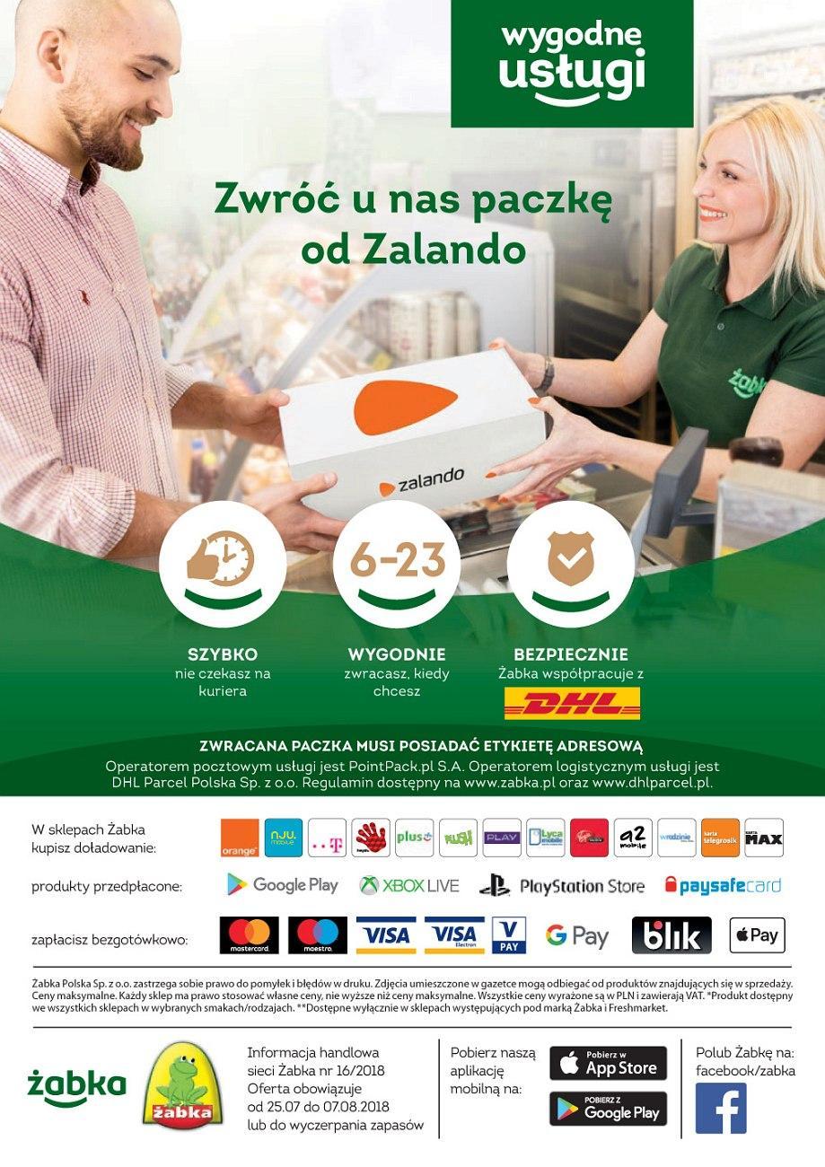 Gazetka promocyjna Żabka do 07/08/2018 str.23